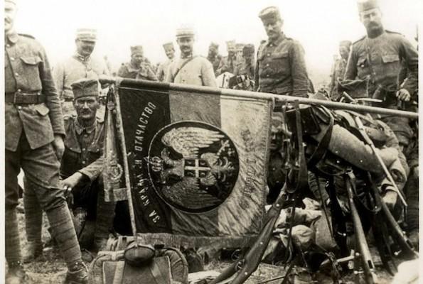 Застава Гвозденог пука која никад није пала непријатељу у руке