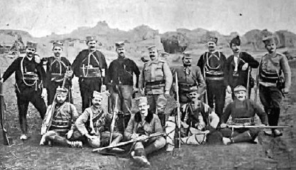 Војвода Вук са својим војницима