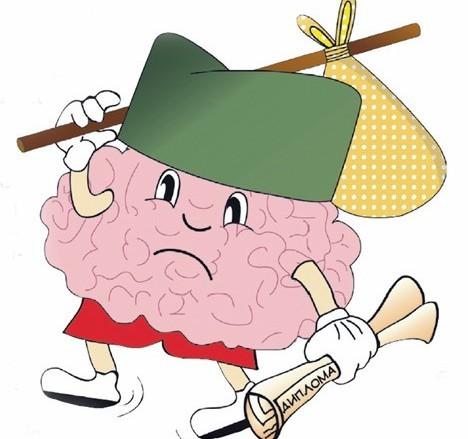 odliv mozgova